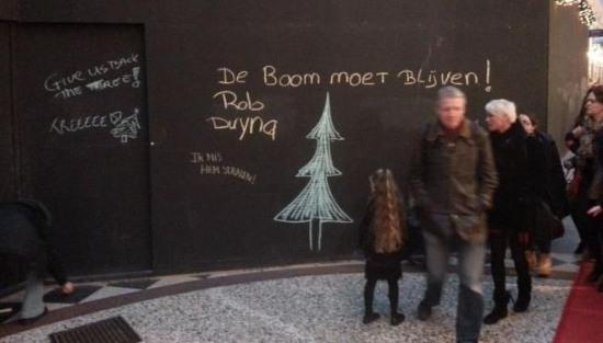 Hagenaar boos op Apple vanwege kerstboomverbod