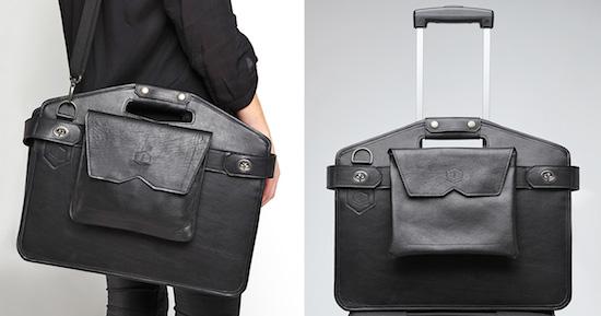 Handige tas voor in het vliegtuig