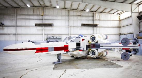 Grootste LEGO-creatie ooit is een levensgroot ruimteschip