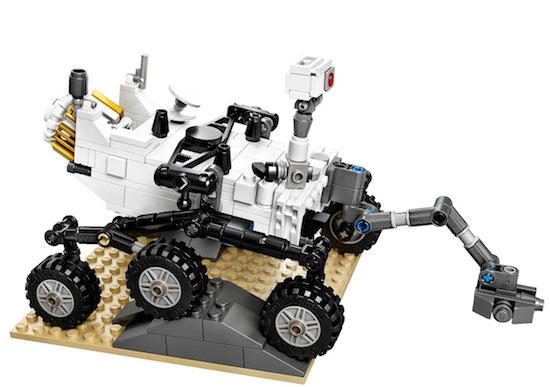 LEGO gooit Mars Curiosity Rover in de verkoop