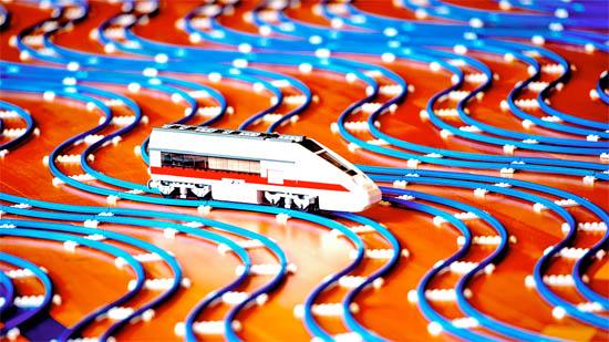 Lego wereldrecord spoorbaan