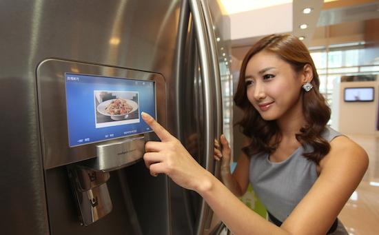 Nieuwe fridge