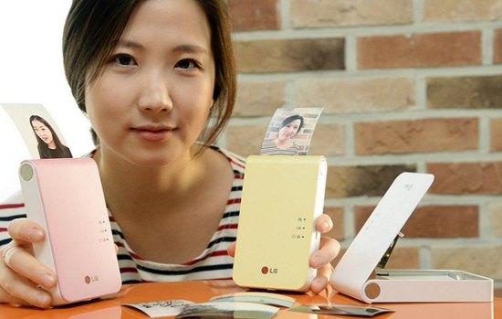 LG Pocket Photo 2: mobiele printer in handformaat