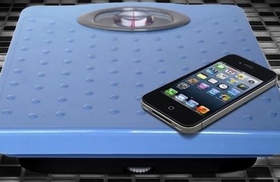Lichtste smartphones