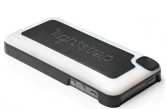 Lightstrap: een iPhone-hoesje met ingebouwde flitser