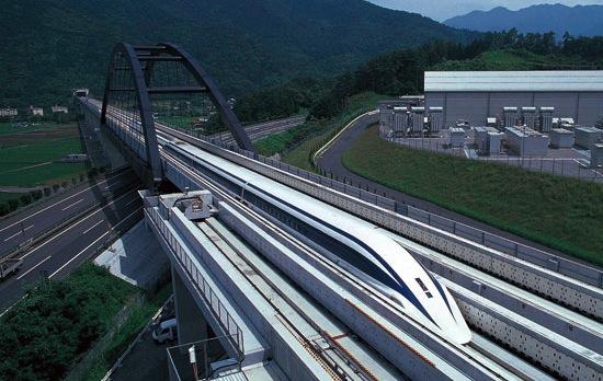 Japan gaat verder met supertrein (581 km/u)