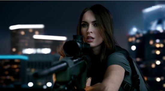 Megan Fox in nieuwe trailer