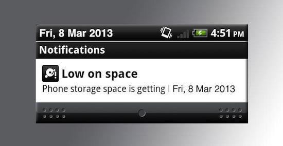 Galaxy S4 gebruikers ontevreden over geheugen