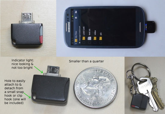 mini microSD lezer