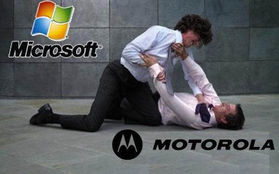 Microsoft klaagt douane aan Motorola import