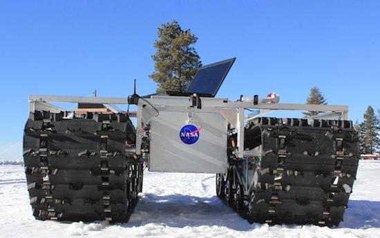 NASA stuurt robot op rupsbanden naar Groenland