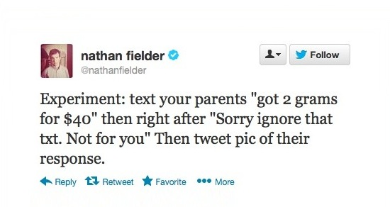 Nathan Fielder on a roll