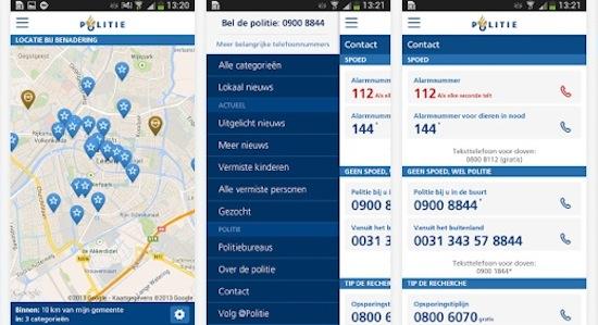 Politie brengt digitale diensten samen in één app