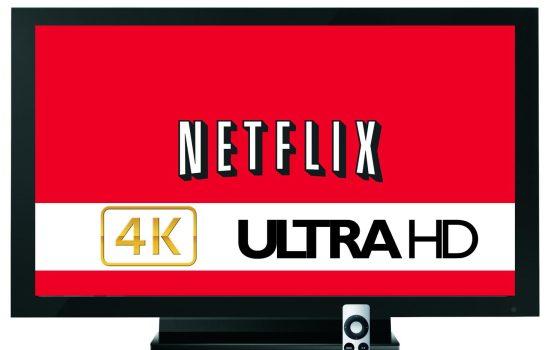 Netflix gaat 4K-video