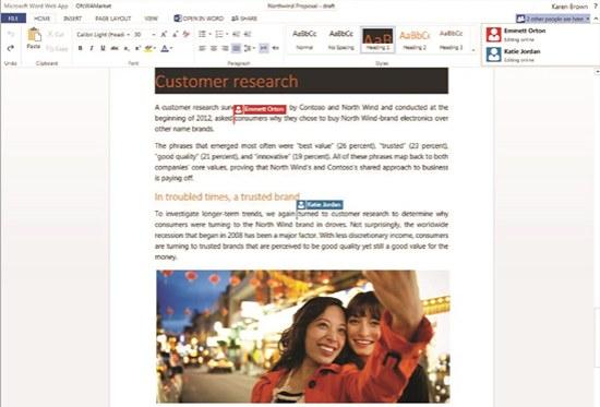 Office online samenwerken