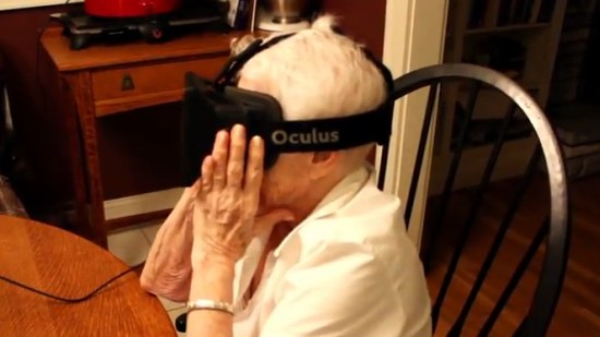 Oma doet Oculus 3D