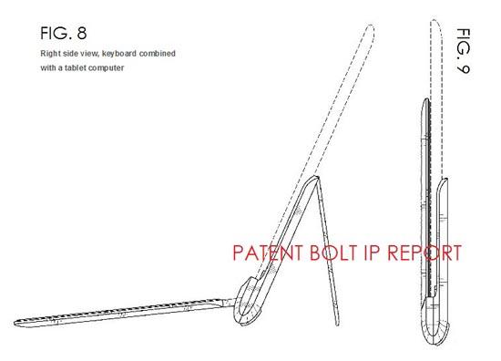 Samsung's mogelijke draadloze toetsenbord