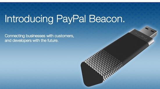 Paypal Beacon laat je zonder handen betalen