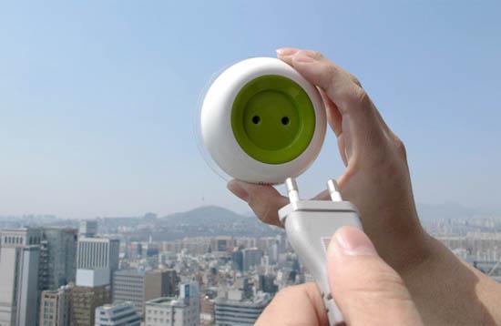 Portable Oplaadbaar Raam Stopcontact