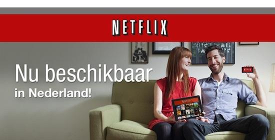 Netflix van start gegaan in Nederland, kost €7,99 per maand