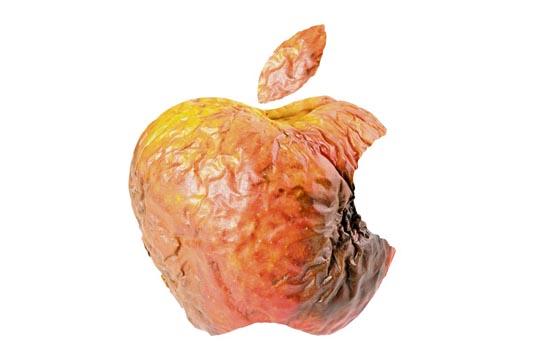 Er is maar een rotte Apple nodig