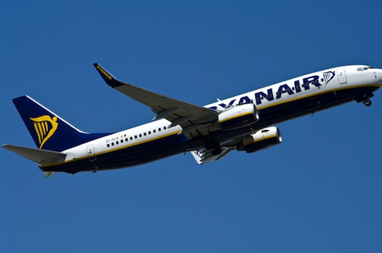 Ryanair 10 euro London - New York