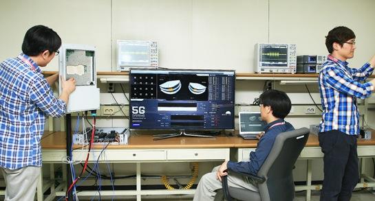 Samsung haalt 1 Gbps op 5G-netwerk