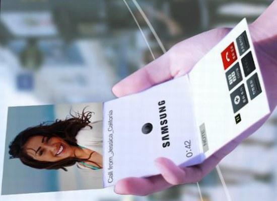 Samsung flexibel scherm