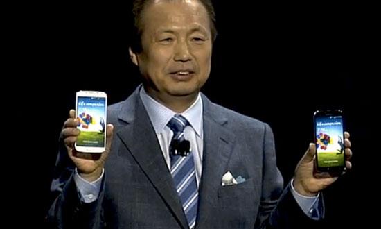 Samsung Galaxy S IV lancering