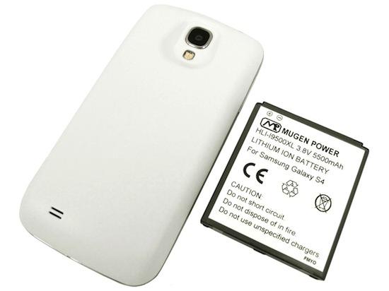 Mugen Power batterij voor Samsung Galaxy S4