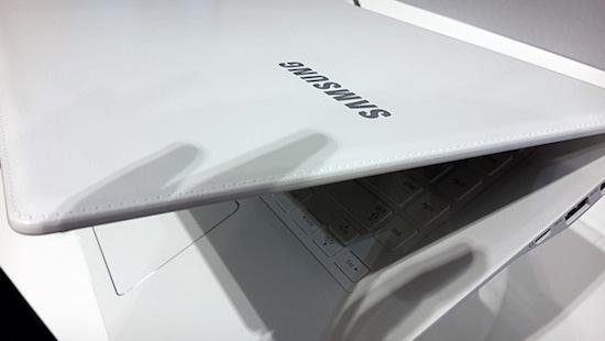 Samsung komt met een lederen laptop