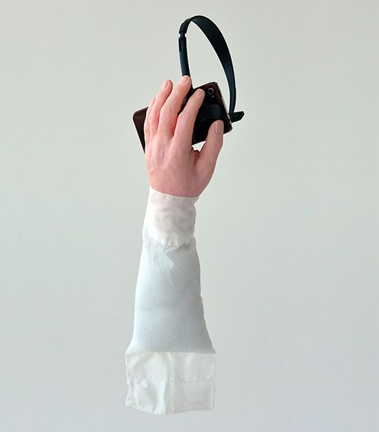 Semi-handsfree headset