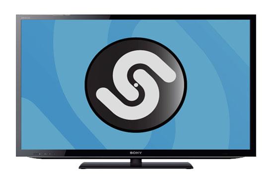 Shazam op tv