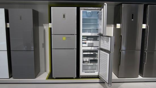 Koelkast van Siemens trekt je eten vacuüm