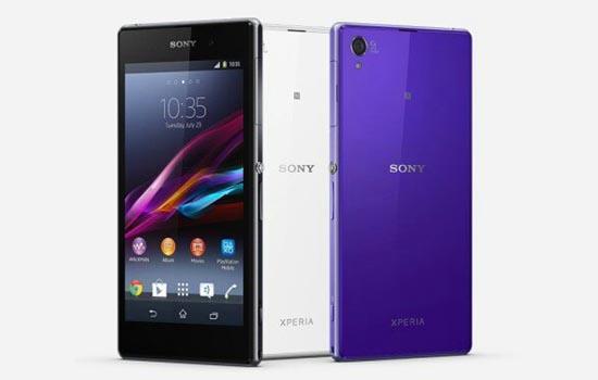 Sony Xperia Z1 persfoto