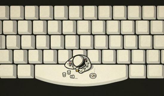 Waar halen astronauten hun drankjes?