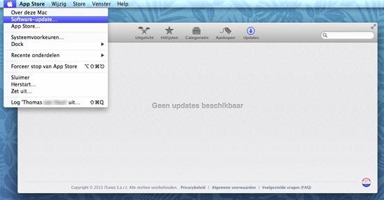 Aloha-achtergrond is overigens meegeleverd met OS X 10.8