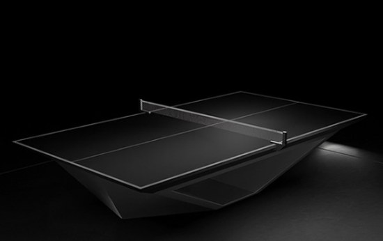 De Stealth Table: een pingpongtafel van 50.000 euro