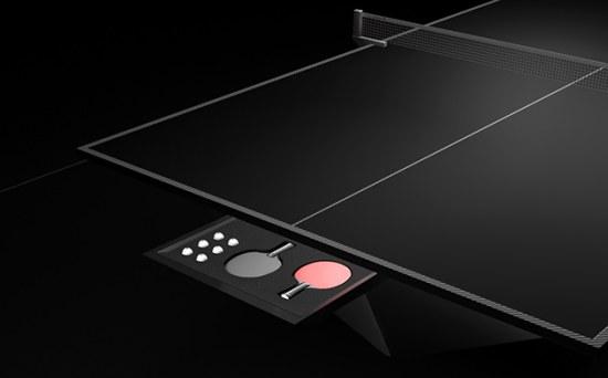 De Stealth Table: een pingpongtafel van 50.000 euro
