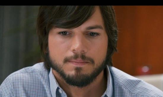 Kijk hoe Ashton Kutcher langzaam in Steve jOBS verandert