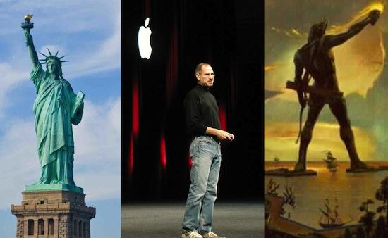 'Standbeeld Steve Jobs groter dan Vrijheidsbeeld