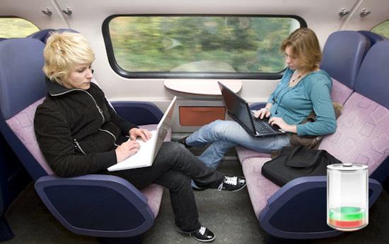 Tweede Kamer eist stopcontacten in treinen
