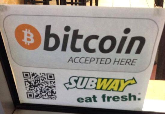Bitcoin voor brood