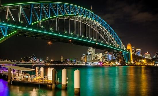 Sydney Harbour Bridge LED-verlichting