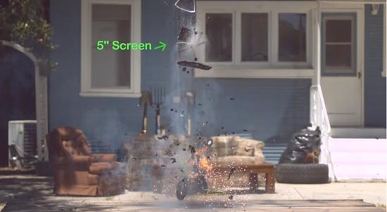 Teardown explosie