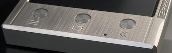 Titanium telefoon van Gresso kost €1690