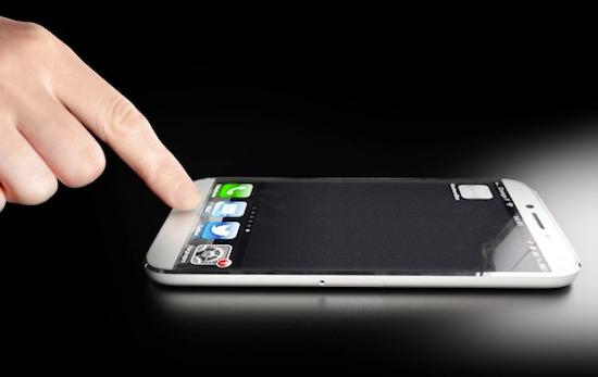 Toekomstige iPhone geen home-knop
