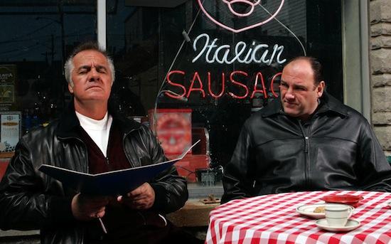 The Sopranos hit op iTunes na dood Tony