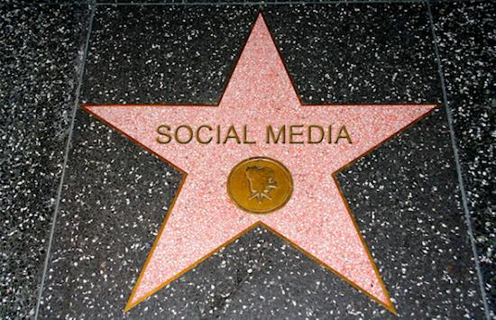 Top 10 celebs social media