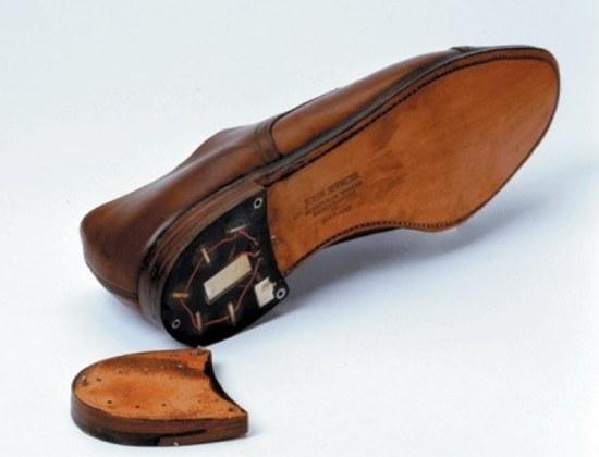 Schoen met zender